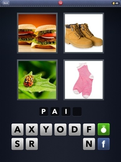 Pics 1 Word Cheats: 4 Letter Words Part 1