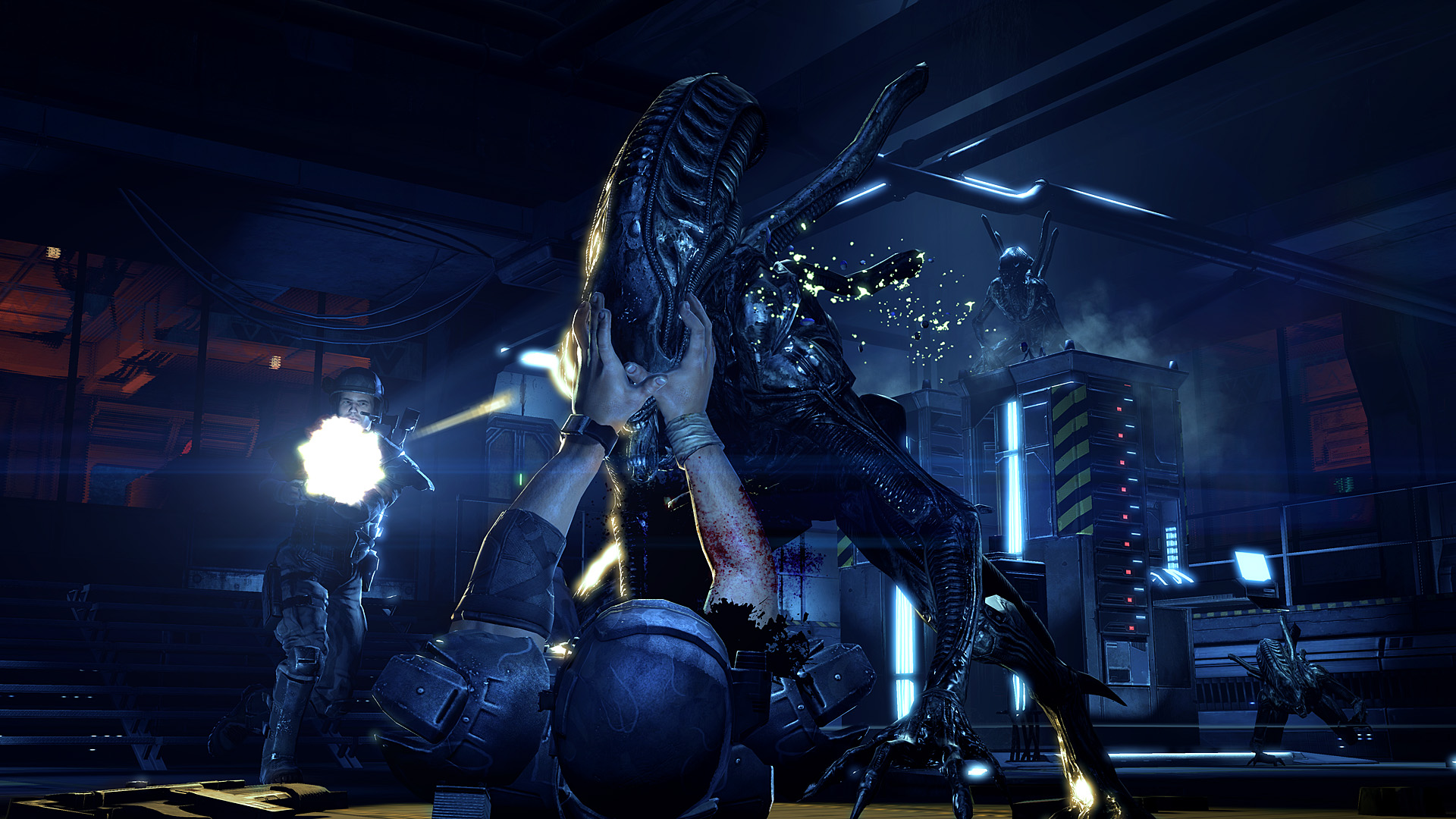 Aliens Colonial Marines cheats tips