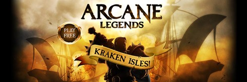 Arcane Legends Kraken Isles