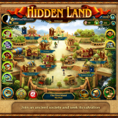 Travel back in time to save an ancient race in Hidden Land on iPad