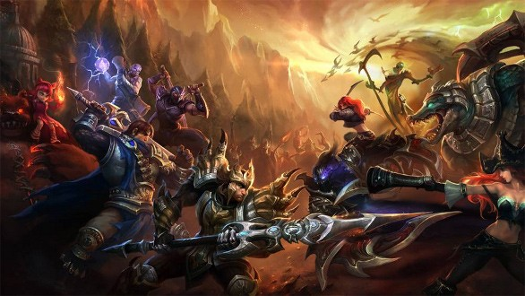 League of Legends screen shots