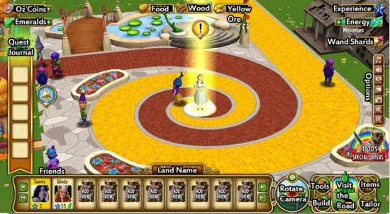 Wizard of Oz cheats tips