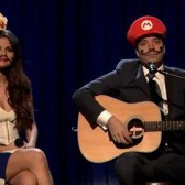 Jimmy Fallon and Selena Gomez perform Mario Kart love song