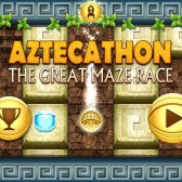 Make your way through ruins as quickly as possible in Aztecathon: The Great Maze Race on