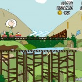Snoopy Coaster is a simpler take on the roller coaster endless runner