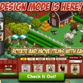 New FarmVille Feature: Design Mode for FarmVille decorators