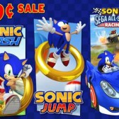 Dash, jump, and race over to iOS to pick up these Sonic games on sale