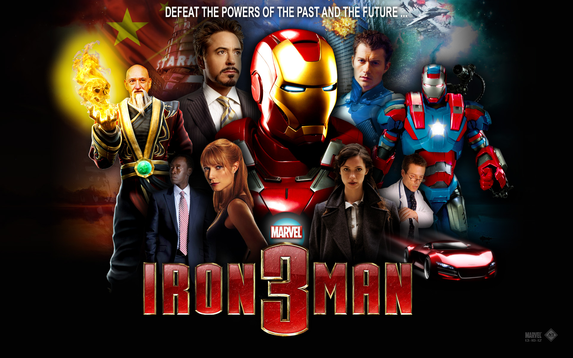 iron man 3 iphone game