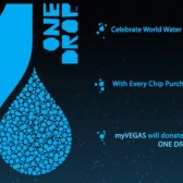 myVegas: Donate to One Drop and receive extra free chips