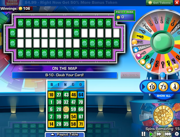 free wheel of fortune free online games
