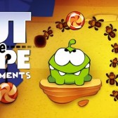Feed Om Nom more candy in Cut the Rope: Experiments Ant Hill pack