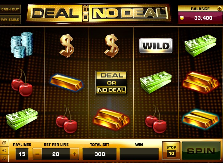 deal or no deal slot games