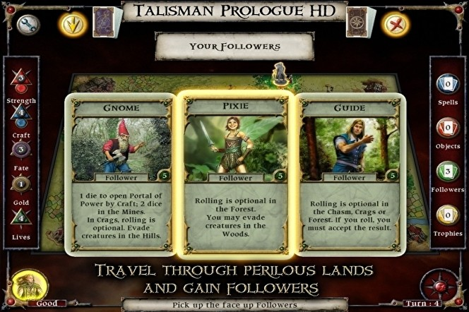 Talisman Prologue cheats tips