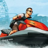 GTA 5 original artwork: A getaway by land or sea