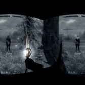 Oh snap, Skyrim is running on the Oculus Rift