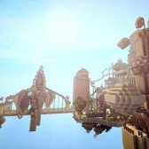 'BioShock Infinite's Columbia Recreated in 'Minecraft