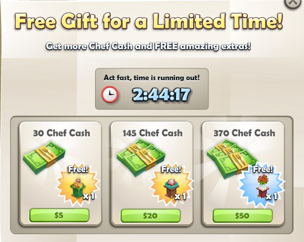 Chefville aftertaste what do cash sales and bonuses mean for Promotion cash piscine