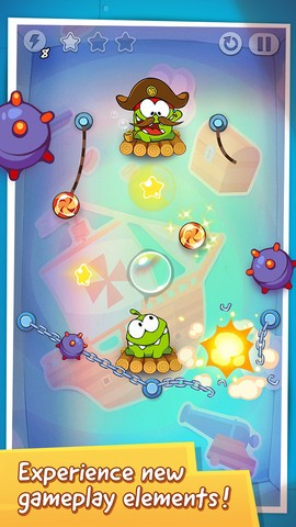Cut The Rope Time Travel cheats tips
