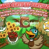 FarmVille Organic Certified Fertilizer coming so