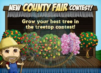 FarmVille County Fair Treetop Contest
