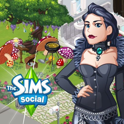 The Sims Social Spells Week quests