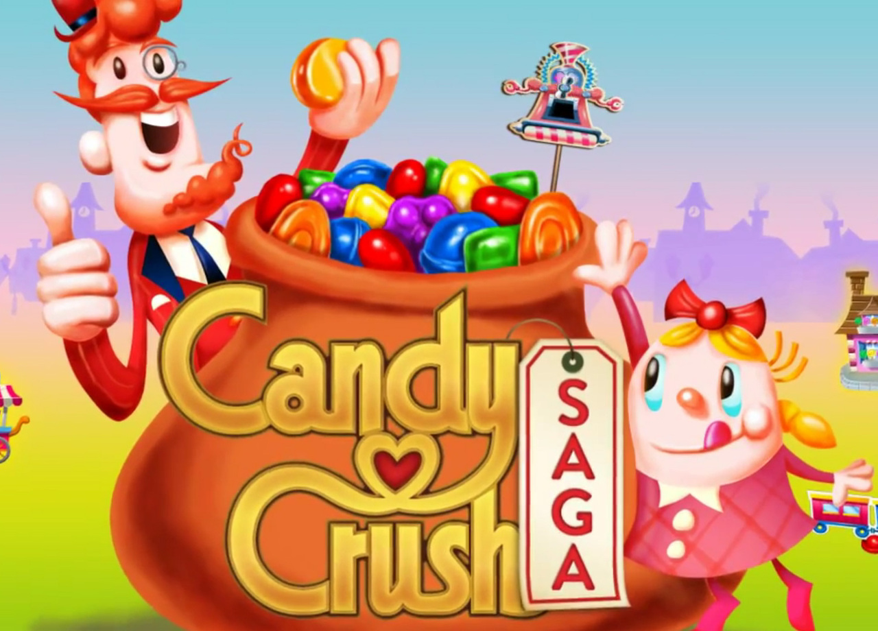 candy crush saga is a game developed by king com that invites you to a