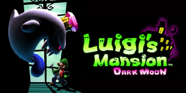 luigi, luigi's mansion dark moon, nintendo 3ds, super mode