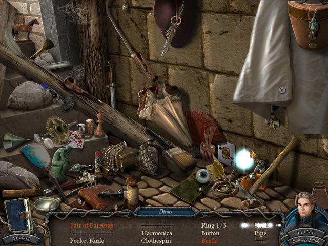 hidden object, vampier legends