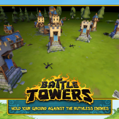 Battle during both day and night in Battle Towers on Android