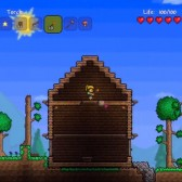 Terraria on Xbox Live Arcade feels a lot like Minecraft, and it's just as fun
