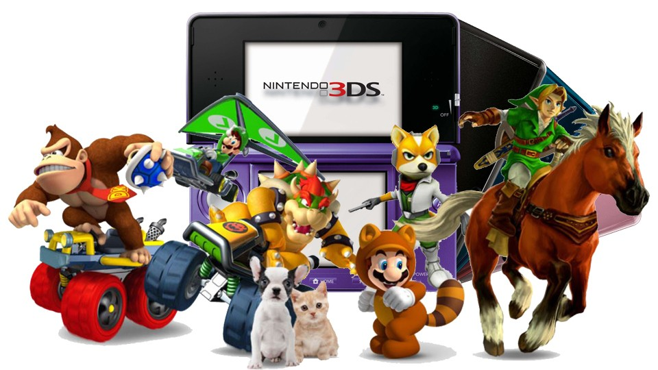 Top 10 Nintendo 3DS games