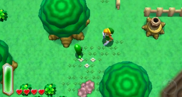 Legend of Zelda Link to the Past 3DS