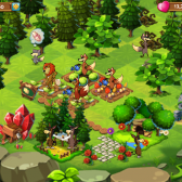 Help animal warriors defeat an evil witch in ZooVale, coming soon to iOS, Facebook