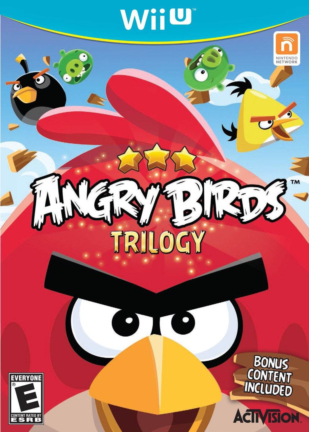 Angry Birds for Wii U