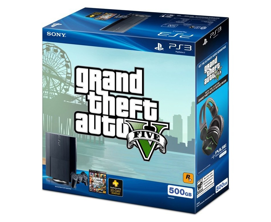 GTA V 500GB Bundle