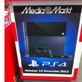 PS4 release date set for November 13, according to European retailers