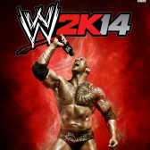 The Rock takes the cover of WWE 2K14