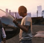 GTA 5's three protagonists wo
