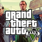 GTA V lithograph included with BradyGames' strategy guide pre-order