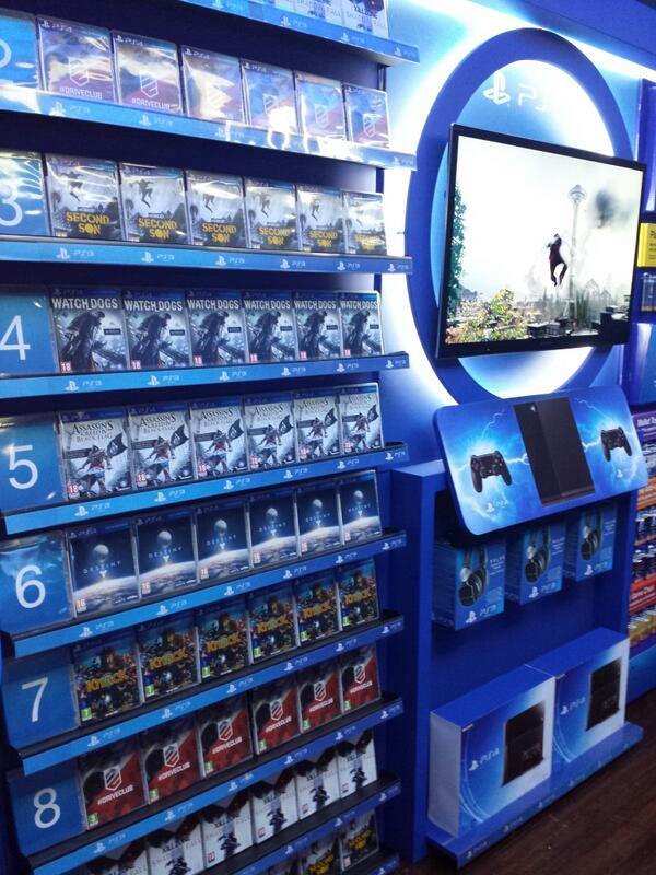 PS4 Display