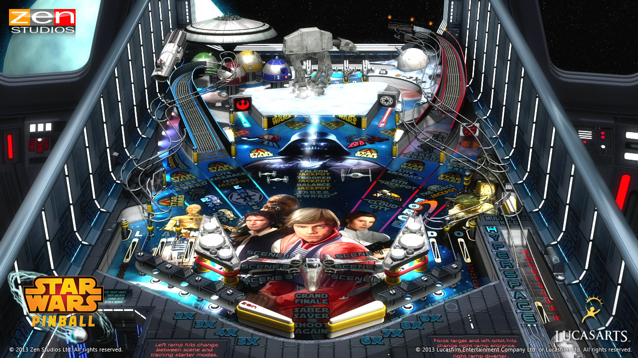 Star wars pinball on wii u