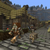 Minecraft Meets Skyrim in Epic Mash-Up