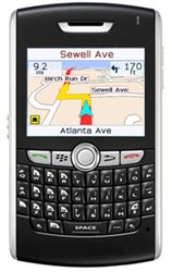 MapQuest Navigator for Blackberry&reg;