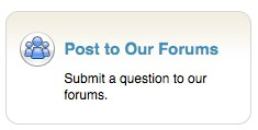 MapQuest Help Site Forum