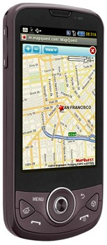 MapQuest Mobile Web 2.0 on the Samsung Behold® II