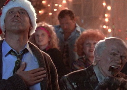 right im off to decorate the christmas tree hopefully bought from the canadian tire up the street not the fucking woods and i will try to be back for - Christmas Vacation Scenes
