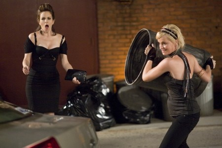 Toina Fey and Amy Poehler in Baby Mama