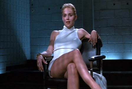 Sharon Stone in 'Basic Instinct'