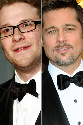 Seth Rogen and Brad Pitt