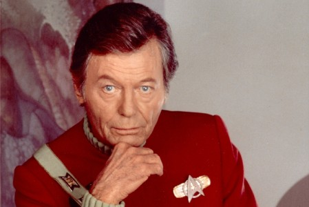 DeForest Kelly as Dr. McCoy